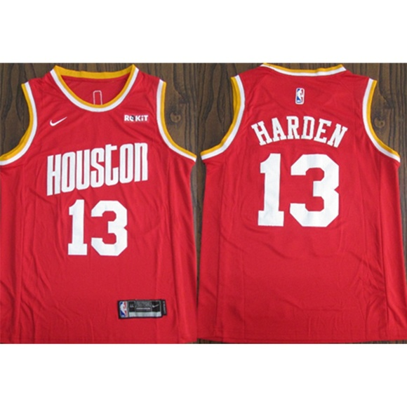reputable site b27a2 3c55b Houston Rockets James Harden Jersey (2) NWT